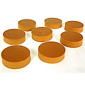 Sonic Design Damping Feet for Loudspeaker & HiFi Equipment - set of 8, 0-12kg