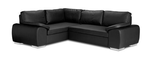Marcos Corner Sofa Bed Pu Leather from our Corner Sofas range - Tesco