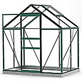 Simplicity Classic Green 6x4 Greenhouse Starter Package
