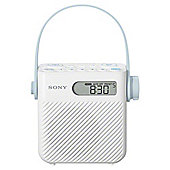 Sony FM/AM Shower Radio Splashproof