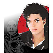 Rubies Fancy Dress - Michael Jackson Black Wig (Curley) - ADULT - One Size