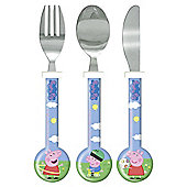 Peppa Pig & George 3 Piece Cutlery
