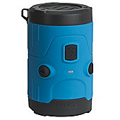 Scosche boomBOTTLE H2O Rugged Waterproof Bluetooth Wireless Speaker (Blue)