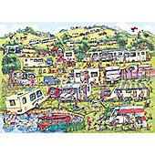 The Caravan Site Puzzle