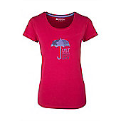 Summers Day Womens Tee Shirt Cotton Tee Shirt - Red