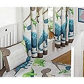 Dinosaur Facts, Childrens Curtains 54s - Cream - Multi