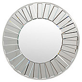 Gallery Mondello Round Mirror - 92.71 cm H x 92.71 cm W