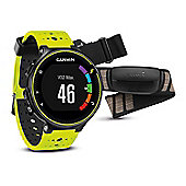 Garmin - Forerunner 230 with Premium Soft-Strap HRM Yellow and Black