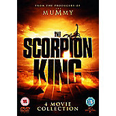 Scorpion King 1-4 Boxset (DVD)