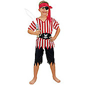 Discontinued - Pirate Boy - Child Costume 5-6 years