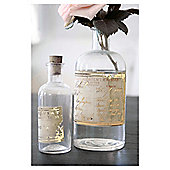 Apothecary Bottles With Foil 40 x 60cm