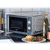 Igenix IG2860 20 Litre 800W Manual Microwave - Stainless Steel