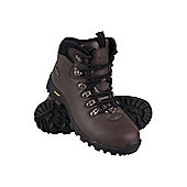 Python Mens Walking Hiking Waterproof Dry Comfortable Iso-Grip Boot - Brown