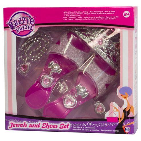 Razzle Dazzle Jewellery and Shoe Set
