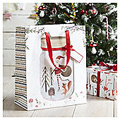 Santa Christmas Gift Bag, Large