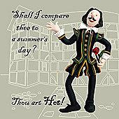 Holy Mackerel Thou art hot Greetings Card