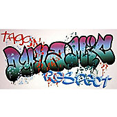 Graffiti Wall Stickers - 2 Large Decals