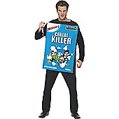 Cereal Killer - Adult Costume Size: 36-40