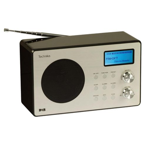 Technika DR 11202B Oxford Digital radio - Black