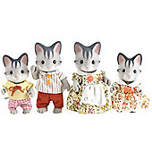 Sylvanian Families - Grey Cat Family