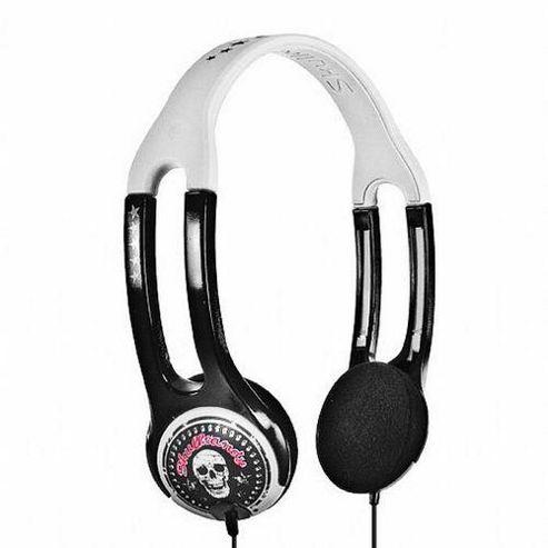 Skullcandy iCon2 Headphones with Mic. in White & Black