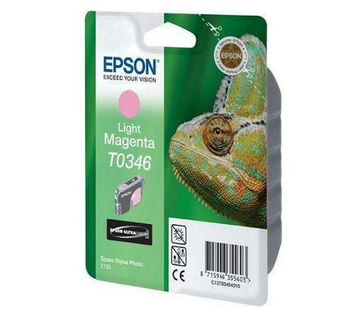 Epson T0346 Light Magenta Ink Cartridge for Stylus C82/CX5200/CX5400 Printers