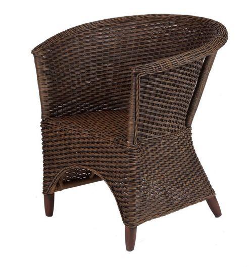Desser Iris Occasional Chair - Brown