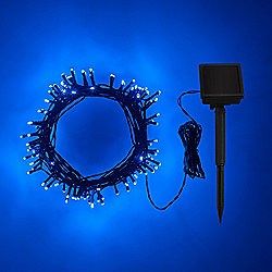 100 Blue LED Solar Garden Fairy Lights