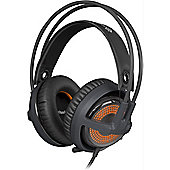 SteelSeries Siberia v3 Prism Gaming Headset Cool Grey for PC Mac PS4 USB port on PC Mac and PS4 SteelSeries Engine 3 runs on PC and Mac 51201