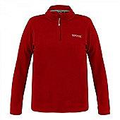 Regatta Ladies Sweethart Half Zip Fleece - Red