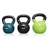 Body Power Endurance Vinyl Coated Kettle Bell Set