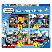 Thomas And Friends - 4 in 1 Puzzle
