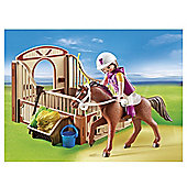 Playmobil Country Trekking Horse With Stall