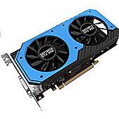Palit GeForce GTX 950 STORM X DUAL Fan NVIDIA Graphics Card PCIe 3.0 (x16) 6610MHz GDDR5 GPU 1064MHz Boost 1241MHz Cores 768 DP / HDMI / 2X DVI