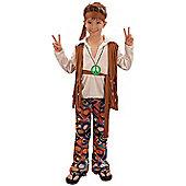 Hippy Boy - Child Costume 9-10 years