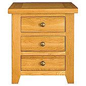 Alterton Furniture Vermont 3 Drawer Bedside Table