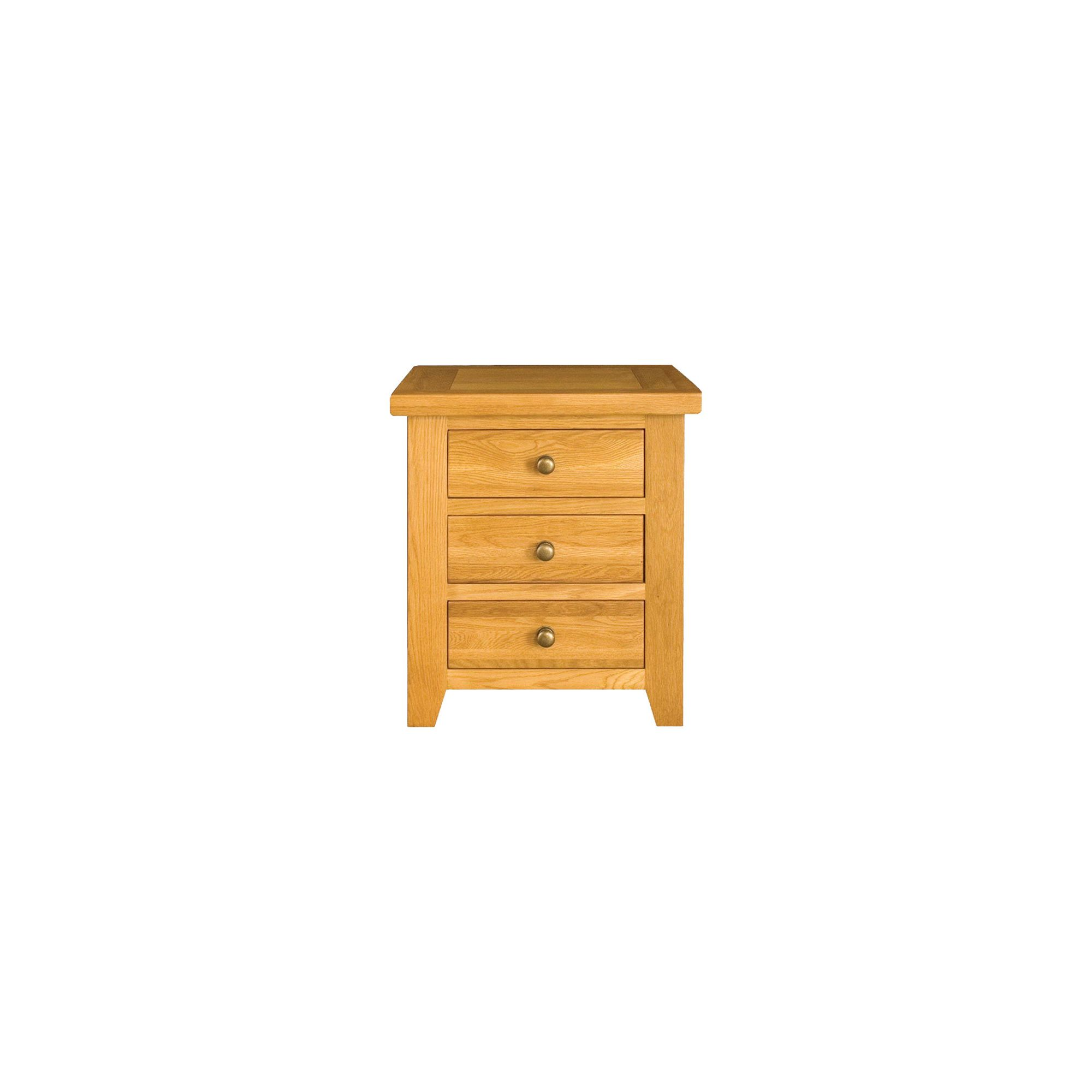 Tesco Direct Alterton Furniture Vermont 3 Drawer Bedside Table Special Savings Today At
