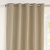 Rectella Jazz Linen Lined Eyelet Curtains -229cm x137cm