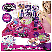 Shimmer and Sparkle Designer Nail & Body Art