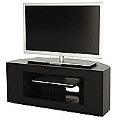 Alphason Contour Series Black TV Stand for up to 47 inch TVs