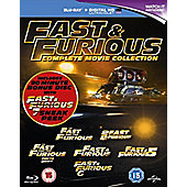 Fast & Furious 1-6 (Bonus disc) Blu-Ray