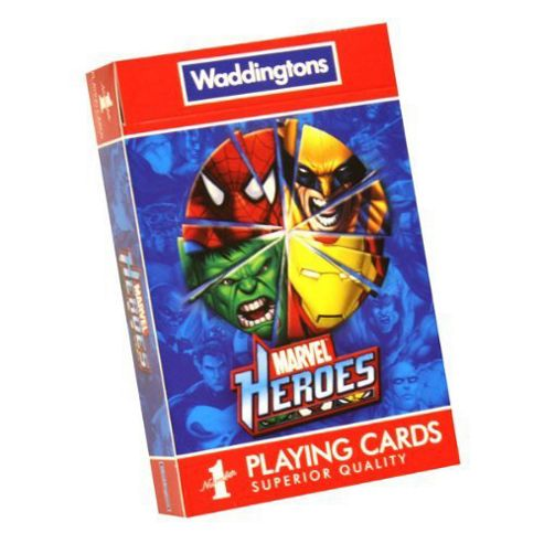 Marvel Heroes - Playing Cards - Waddingtons No1