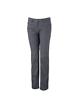 Craghoppers Ladies Kiwi Pro Stretch Hiking Trousers - Grey