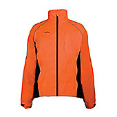 Mens Adrenaline Iso-Viz Cycling Running High Visibility Jacket Coat - Orange
