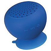 Kitsound Sucker Bluetooth Speaker Blue
