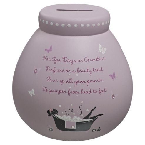 Pamper Pot Money Box