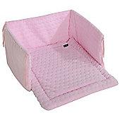 Isabella Alicia Crib Set (Bubble Pink)