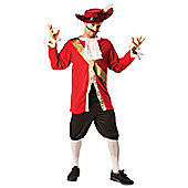 Captain Hook - Adult Costume Size: 42-46