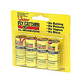 Victor Poison Free Pest Control M510 Classic Hanging Fly Papers 4 Pack