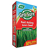Gro-Sure Fast Acting Lawn Seed, 15m2